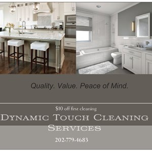 Dynamic Touch Cleaning Services Logo