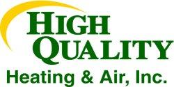 High Quality Heating & Air Inc Logo