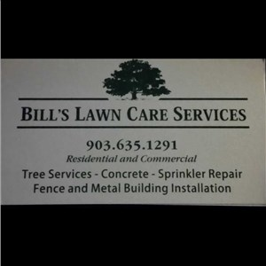 Bills Lawn Care Services and Tree Services Logo