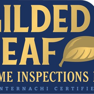 Gilded Leaf Home Inspections Logo