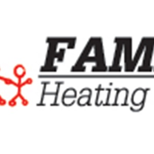 Family Heating & Air Conditioning Logo