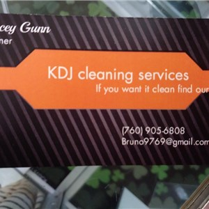 Kdj Cleaning Services Logo