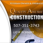 Quality Assured Construction (QA Construction) Cover Photo