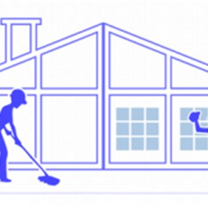 518 cleaning crew Logo