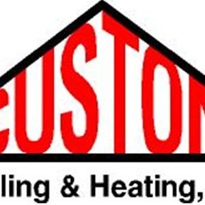 Custom Cooling & Heating Inc Logo
