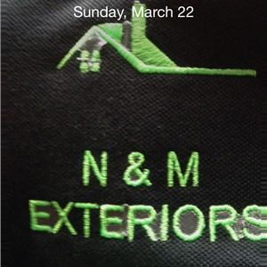 N & M Exteriors Logo