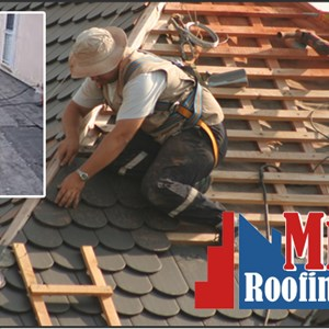 Mr. Fix It Roofing and Paving Logo