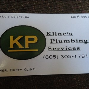 Klines Plumbing Services Logo