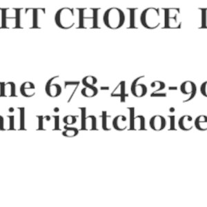 Right Choice Carpet Cleaning LLC Logo