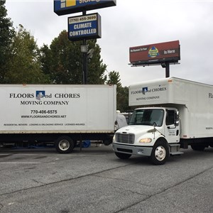 Floors and Chores Moving Co. Logo