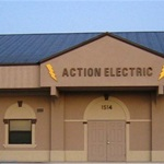 Action Electric Of Lee County Logo