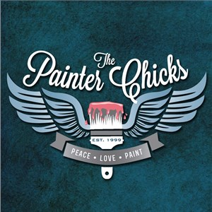 The Painter Chicks Logo