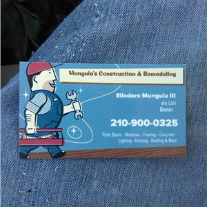 Munguia Construction & remolding Logo