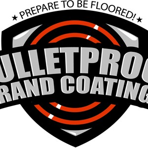 Bulletproof Brand Concrete Coatings Logo