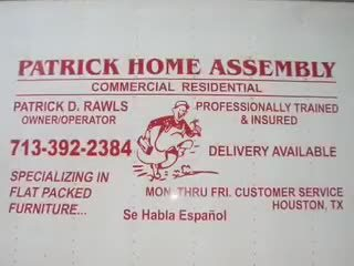 Genial Patrick David Rawls Furniture Assembly Services In Houston, Texas
