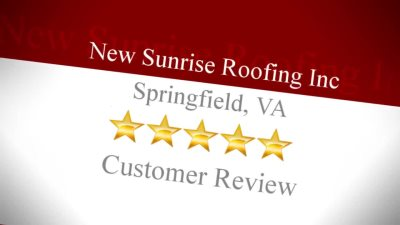New Sunrise Roofing, Inc In Springfield, Virginia