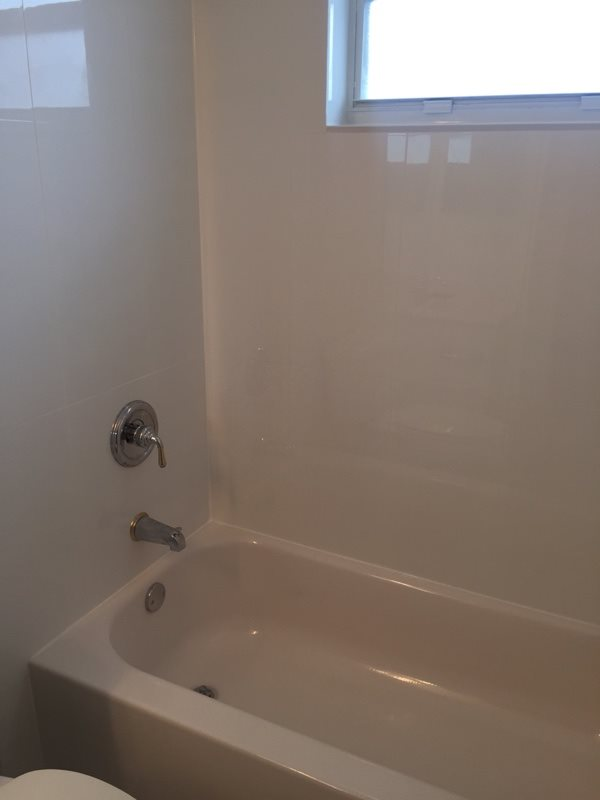 Cheap Bathroom Renovations After Photo