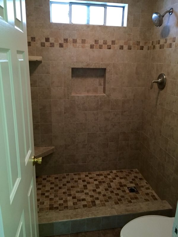 How Much To Tile a Bathroom After Photo
