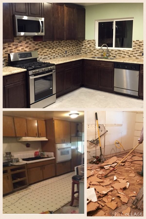 Remodel Kitchen Cabinets After Photo