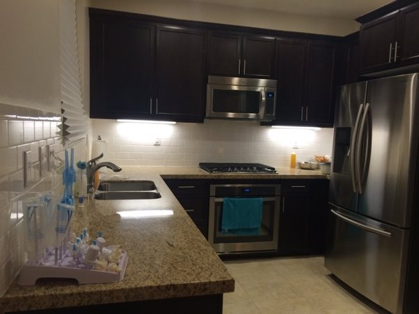 Refinishing Kitchen Cabinets Cost After Photo