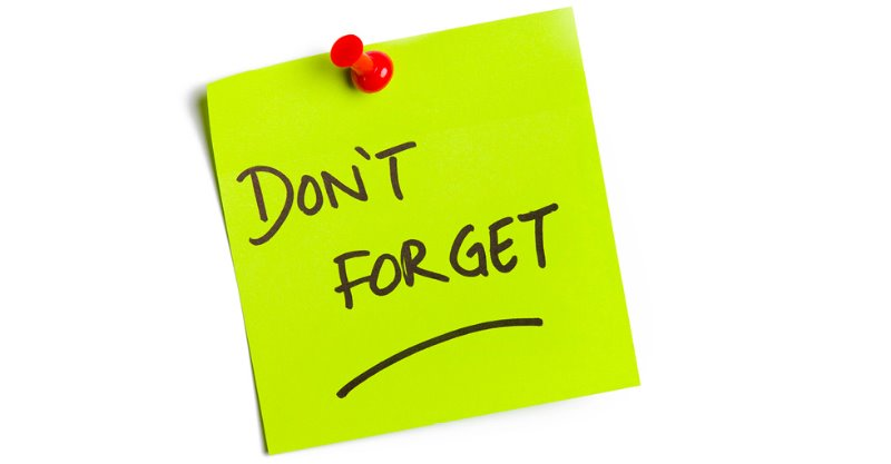 Image result for don't forget post it notes