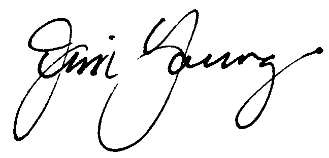Jim Young signature