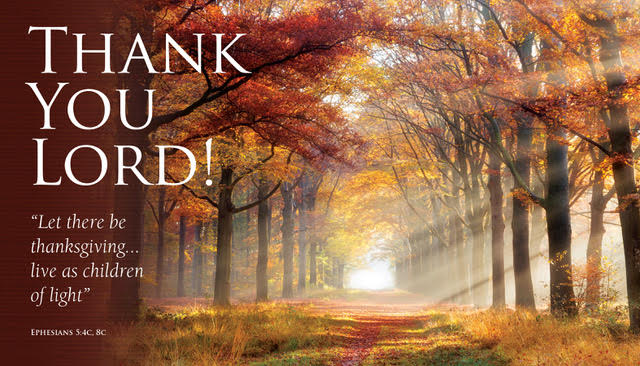 2020 Thank you Lord Card