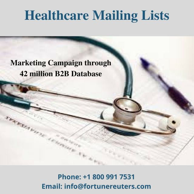 avail free samples of healthcare mailing lists