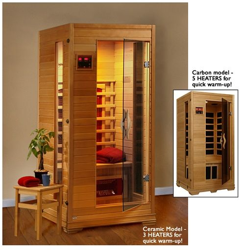 Buena Vista 1 - 2 Person Ceramic Sauna