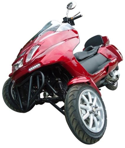 4 Stroke 300cc Trike Scooter Moped