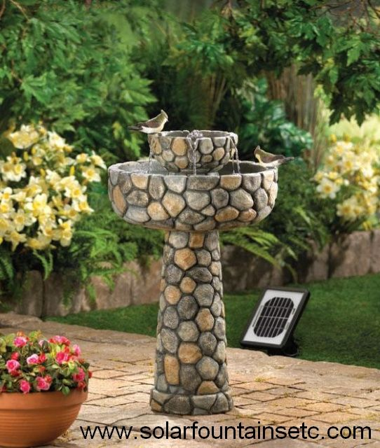 Solar Water Fountains Etc.