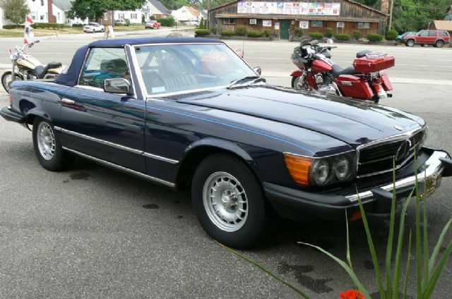 1983 MERCEDES 380SL ROADSTER