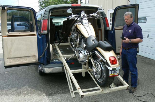 1999 CHEVY CONVERSION CUSTOM MOTORCYCLE HAULER!