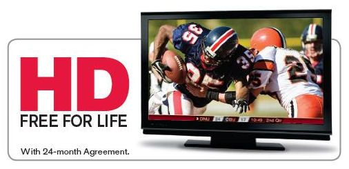 Dish TV - Ask How to get HD FREE for Life!