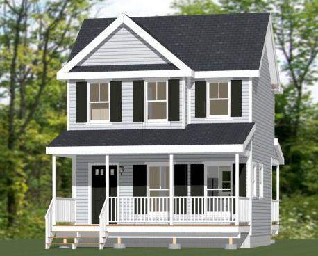 10x28 Tiny House 475 Sq Ft Pdf Floor Plan Jackson