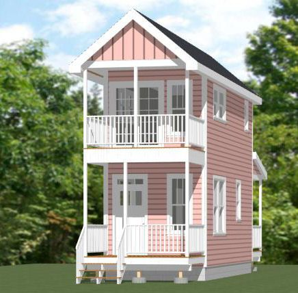 18x30 Tiny Houses 540 sq ft PDF Floor Plans AUSTIN TEXAS