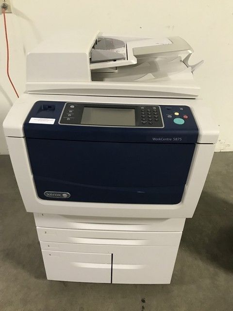 Xerox Workcentre 5875 Printer RTR# 9024739-02