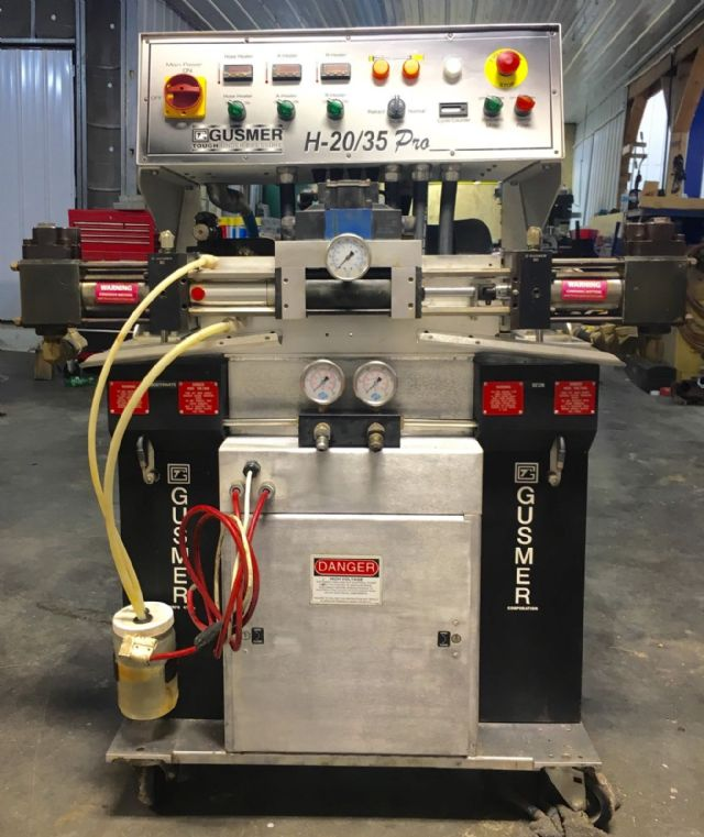 Gusmer Graco H 2035 Pro Spray Foam Machine Seattle