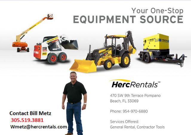 Hertz Equipment Pompano Beach