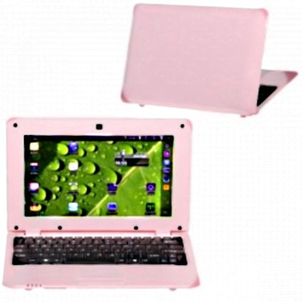 Brand New Pink10.1 inch Google Android 2.2 Netbook