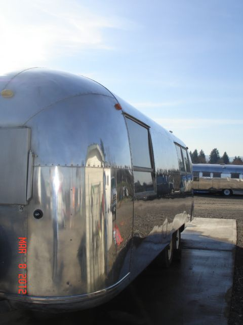 Booking reservations for  Vintage Airstreams
