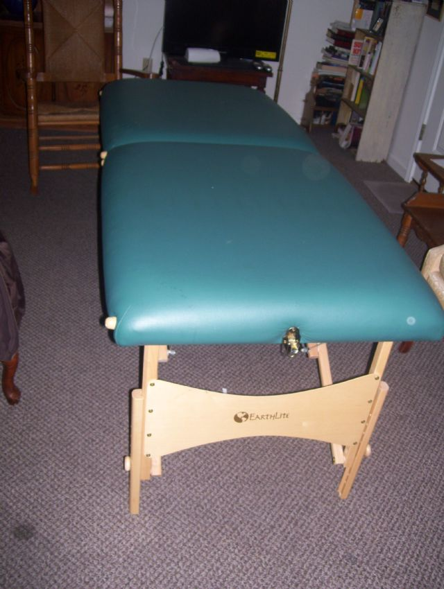 Earthlight Massage Table for sale.
