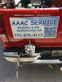 Aaac service heating & air Mcdonough 7708754113