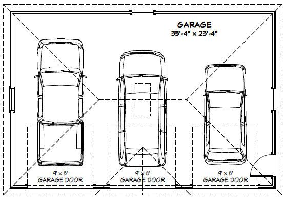 36x24 3-car garage -- 864 sq ft  misc for sale