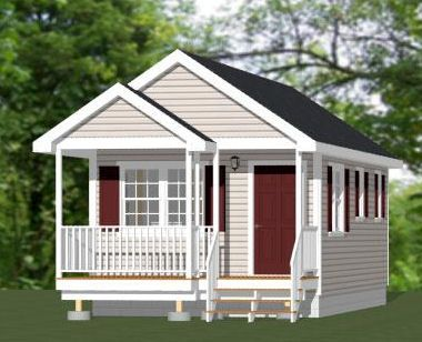 14x28 1 Bedroom Tiny House PDF Floor Plan ATLANTA GEORGIA
