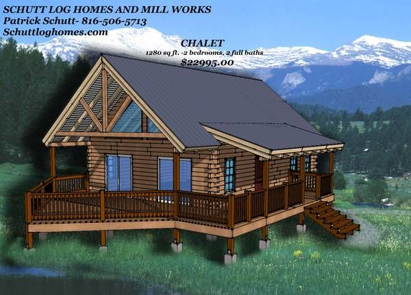 3 bed hunting log cabin kit wichita falls texas general for Hunting cabins kits