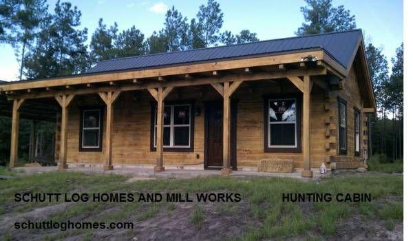 3 bed hunting log cabin kit wichita falls texas general for Texas cabin builders