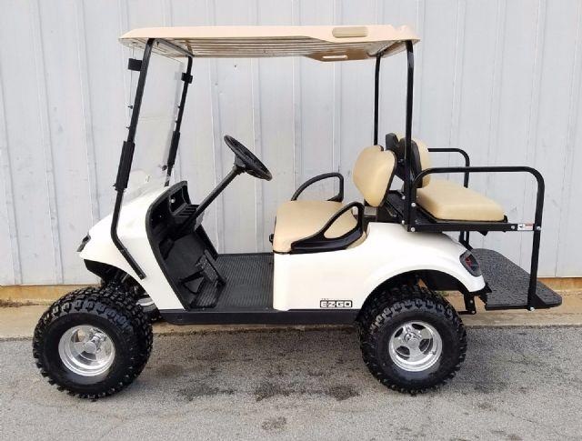 2015 EZGO TXT 13hp GAS LED OEM Golf Cart