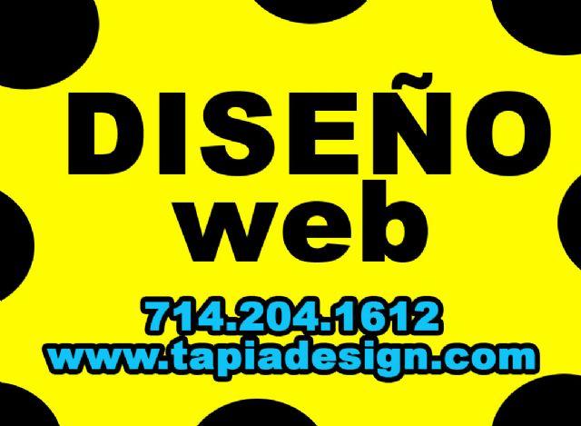 Diseñador de Websites con Musica en Anaheim Ca
