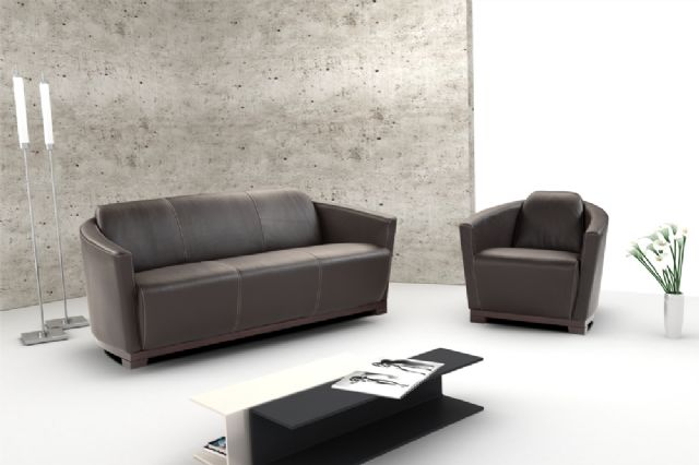 Nicolleti Hotel Italian Contempotary Leather sofa